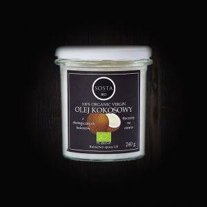 olej kokosowy ekologiczny sosta