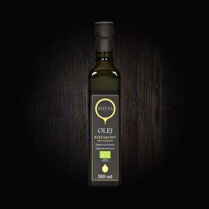 olej rzepakowy ekologiczny tłoczony na zimno sosta