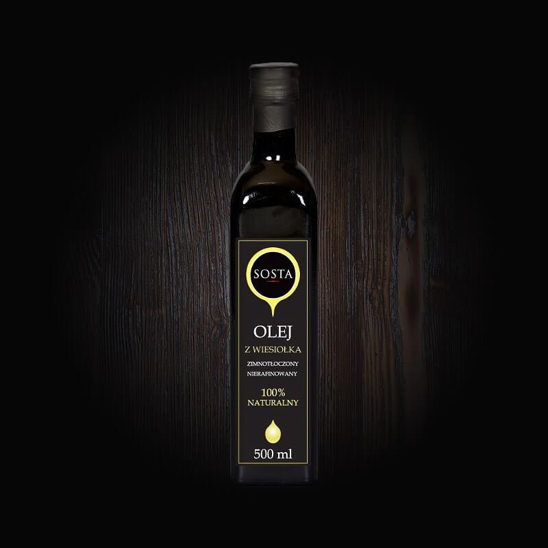 olej z wiesiołka tłoczony na zimno sosta