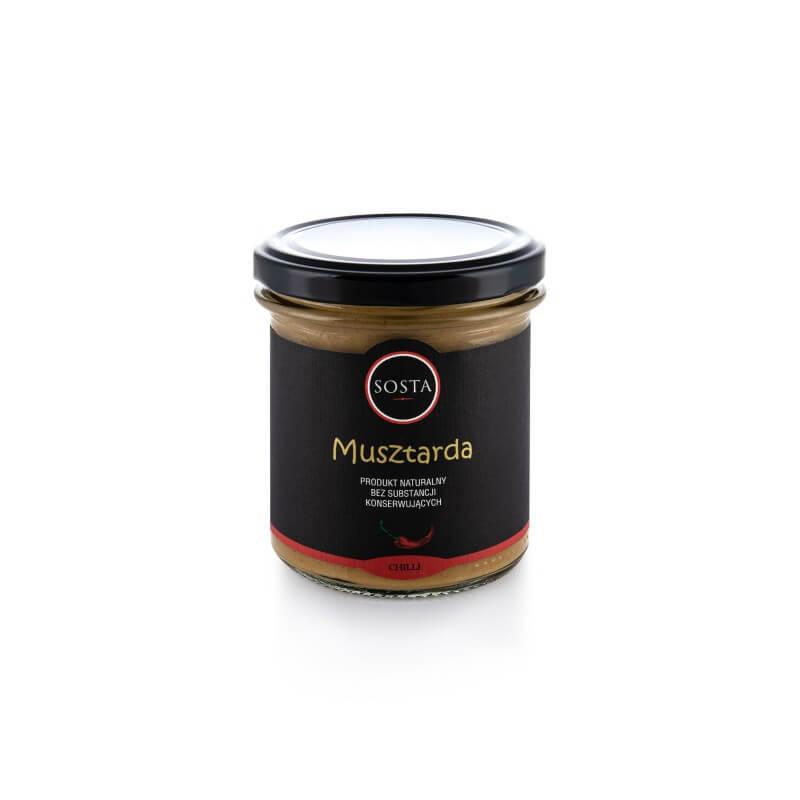 Musztarda z chilli SOSTA 320 g