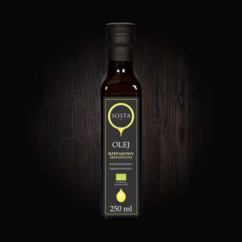 ekologiczny olej rzepakowy sosta