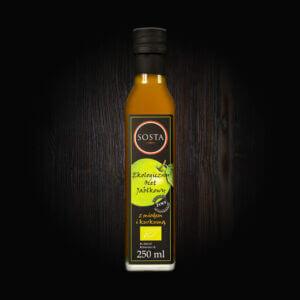 ekologiczny ocet jabłkowy z miodem i kurkumą