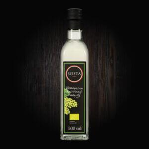 ekologiczny ocet winny biały bio sosta