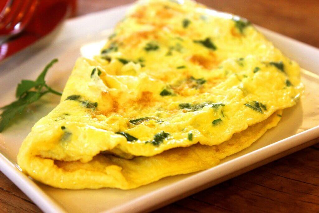 omlet dieta keto