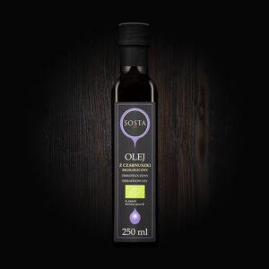 organiczny eko olej z czarnuszki bio sosta