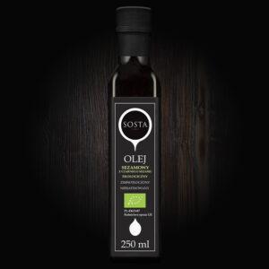ekologiczny olej sezamowy